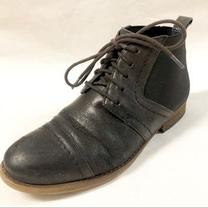 Dark Charcoal Ankle bootie